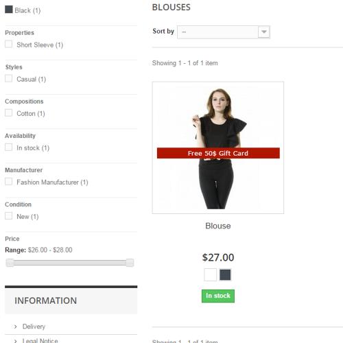 Prestashop Product Extra Info Tab Module