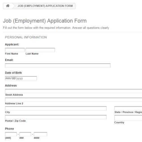 Job (Employment)...