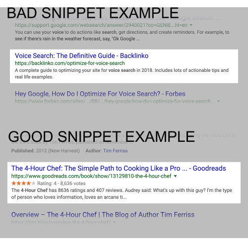 Google Rich Snippets...